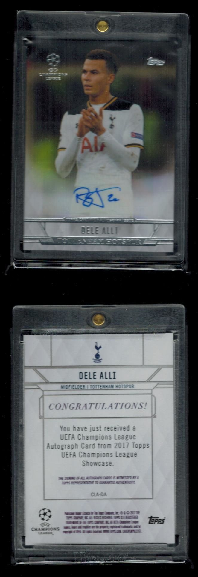 Soccer Cards 183444: 2016-17 Topps Uefa Champions League Base Autograph Auto Dele Alli Ssp -> BUY IT NOW ONLY: $200 on eBay!