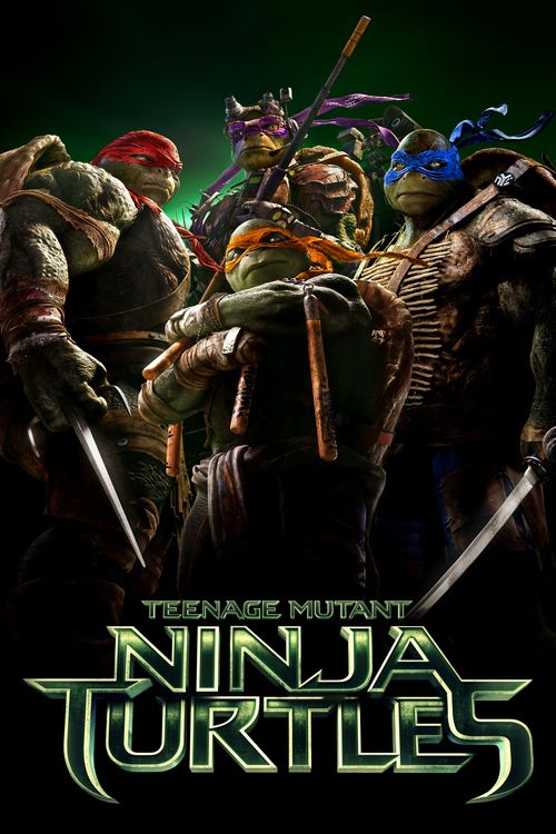 Teenage Mutant Ninja Turtles - movie poster better than i tought it was gonna be