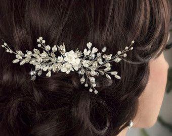 Bridal Hair Accessories Wedding Headpiece от LavenderByJurgita
