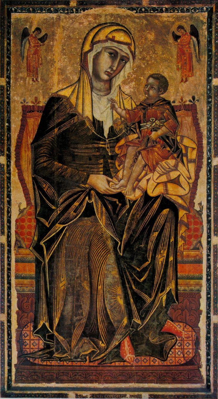Coppo di Marcovaldo - Madonna and Child. 1261