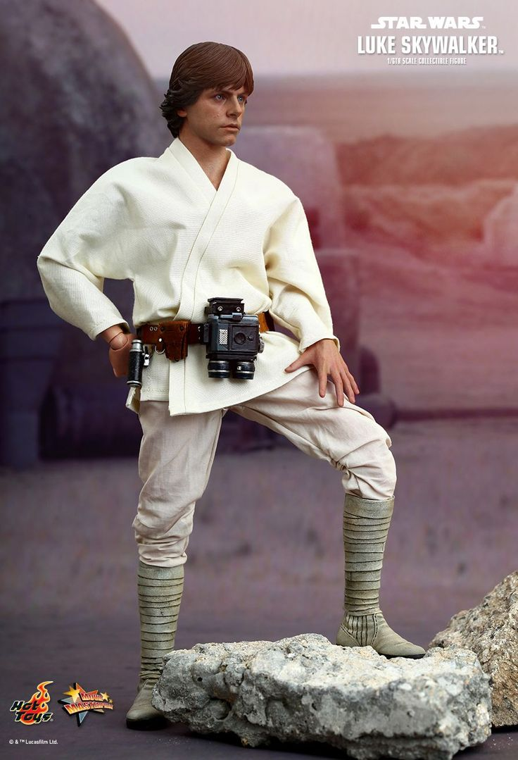 Hot Toys' New STAR WARS Luke Skywalker Action Figure is Incredible