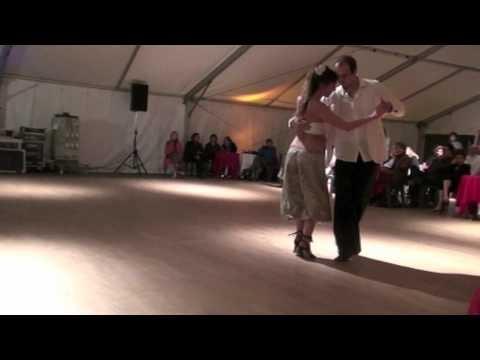 Tango Addiction Festival Mons 2012 - Charlotte y Nicolas Surra - Hugo Diaz