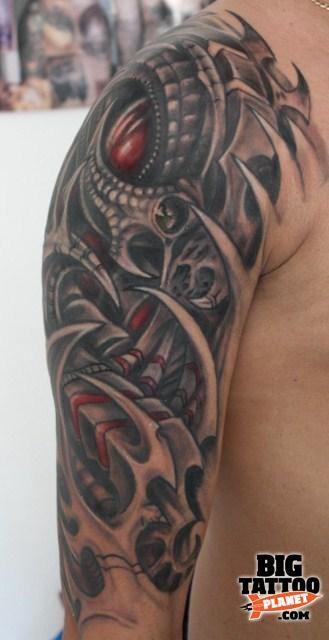 ,LADA, Rafal Lada - Biomechanical Tattoo | Big Tattoo Planet