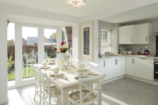 Typical Morpeth Dining Room Leading To Kitchen