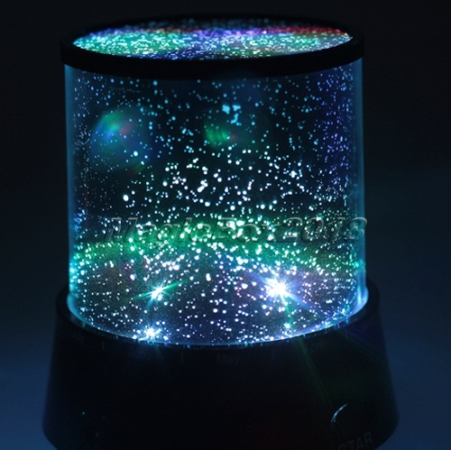 Night Stars Bedroom Lamp, $29.95 GadgetsandGear.com