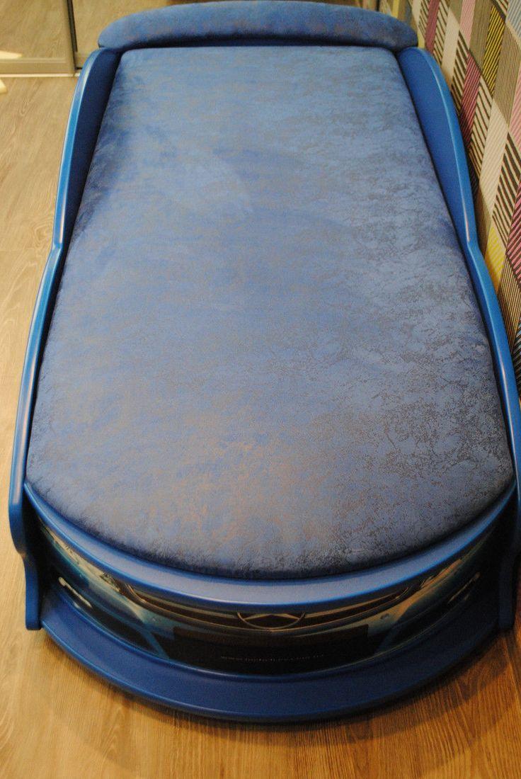 """Детская кровать машина """"Mercedes"""" синяя с матрасом, цена 6600 грн., купить в Киеве — Prom.ua (ID#52064604)"""