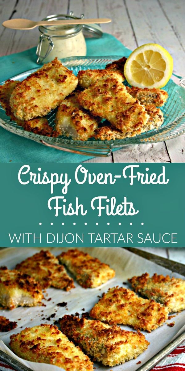 Crispy Oven-Fried Fish Filets | Life, Love, and Good Food #dinner #recipe #dinner recipes