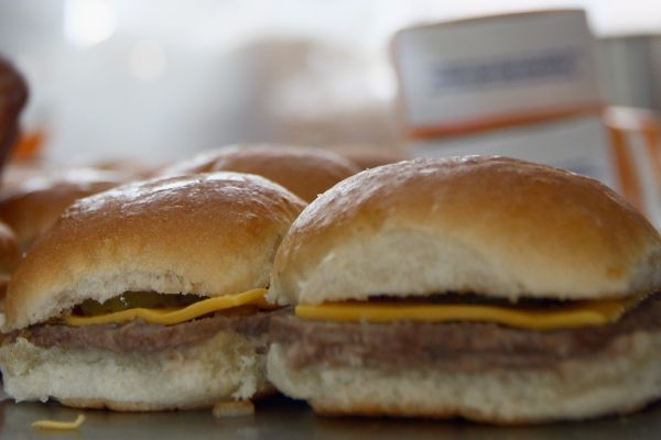 White Castle sliders. (Getty Images)