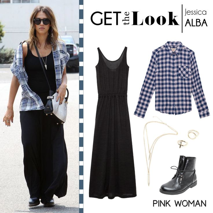 Get the look of Jessica Alba at Pink Woman!