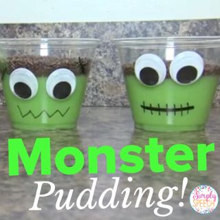 Simply Speech: Pin of the Week: Monster Pudding! - repinned by @PediaStaff – Please Visit ht.ly/63sNtfor all our pediatric therapy pins