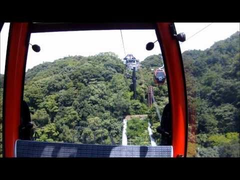 [FHD] Kobe Nunobiki Herb Gardens Ropeway / 神戸布引ハーブ園ロープウェイ