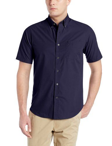 Black friday dockers men 39 s short sleeve button down shirt for Mens dress shirts black friday