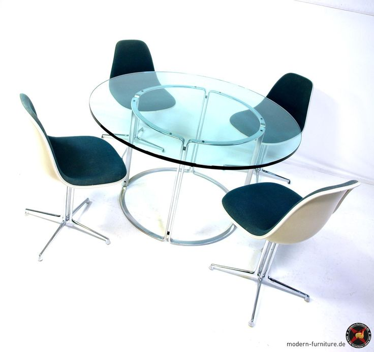 Horst Brüning stainless dining steel table for Alfred Kill model T130 / 1967-69 - Alfred Kill GmbH  / Serie 6910