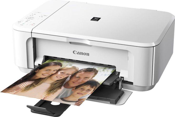 CANON Pixma MG3550 All in One WIRELESS PRINTER SCANNER COPIER in White nb 4960999975269 | eBay