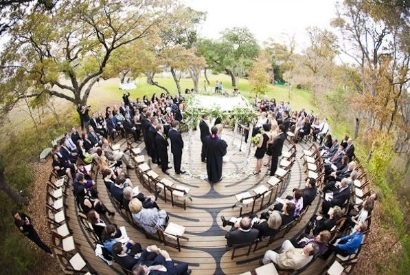 Unique Ceremony Seating Ideas For Outdoor Weddings: Best 25+ Circle Wedding Seating Ideas On Pinterest