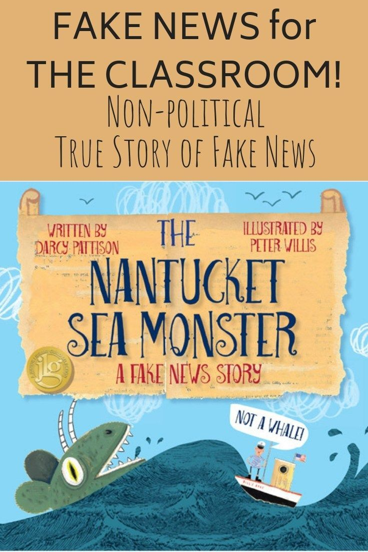 The Nantucket Sea Monster A Fake News Story For Kids Popular