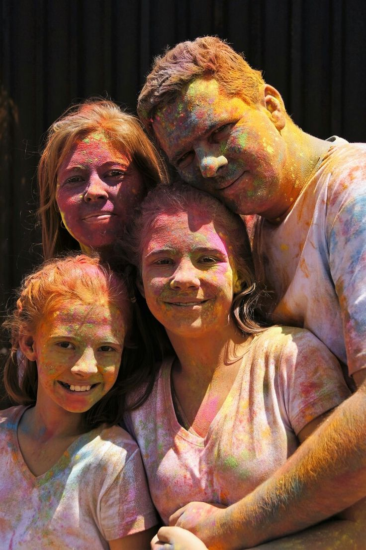 color fest, family photography, Anderson Photography