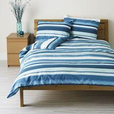 Blue and white stripes evoke a fresh, nautical feeling - Wilko