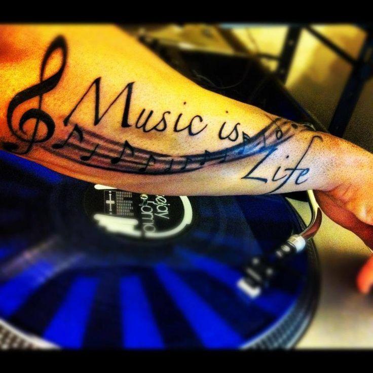 DJ tattoo #flashdjcom