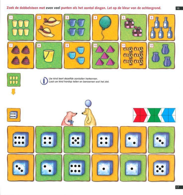 Mini Loco boekje: Van aantal naar getal (basisrekenoefeningen) Noordhoff - mini loco - educatief op Spelmagazijn