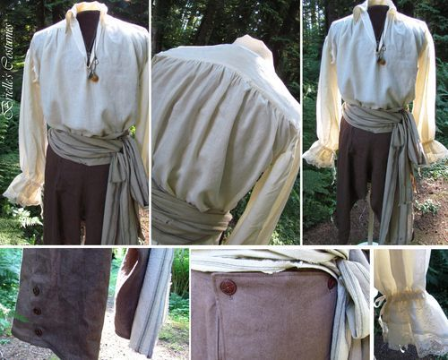 Brielle's Costume Wardrobe: Men's Pirate Costumes