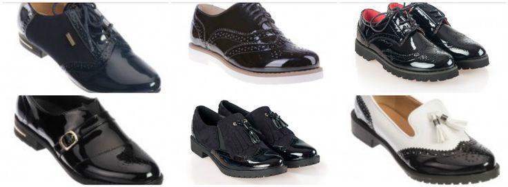 Se poarta pantofii in stil masculin. Unde ii gasim la preturi mici?