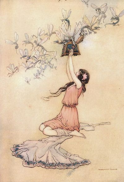 Gobel's fairy tale illustrations