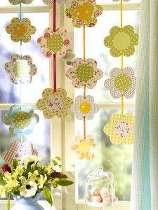 Flower Window Garland