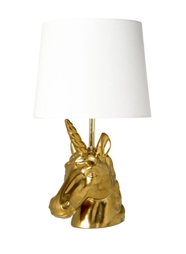 Unicorn Lamp ($30)