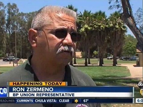 Border Patrol Union Official Under Gag Order, No Agents Securing Border. CA Border Patrol union representative Ron Zermeno told ABC 10 San Diego he has been placed under a gag order in an attempt to avoid negative news about the state of the southern border from getting out to the public.  Zermeno said that the order was designed to prevent him from saying that no agents will be securing the southern border.