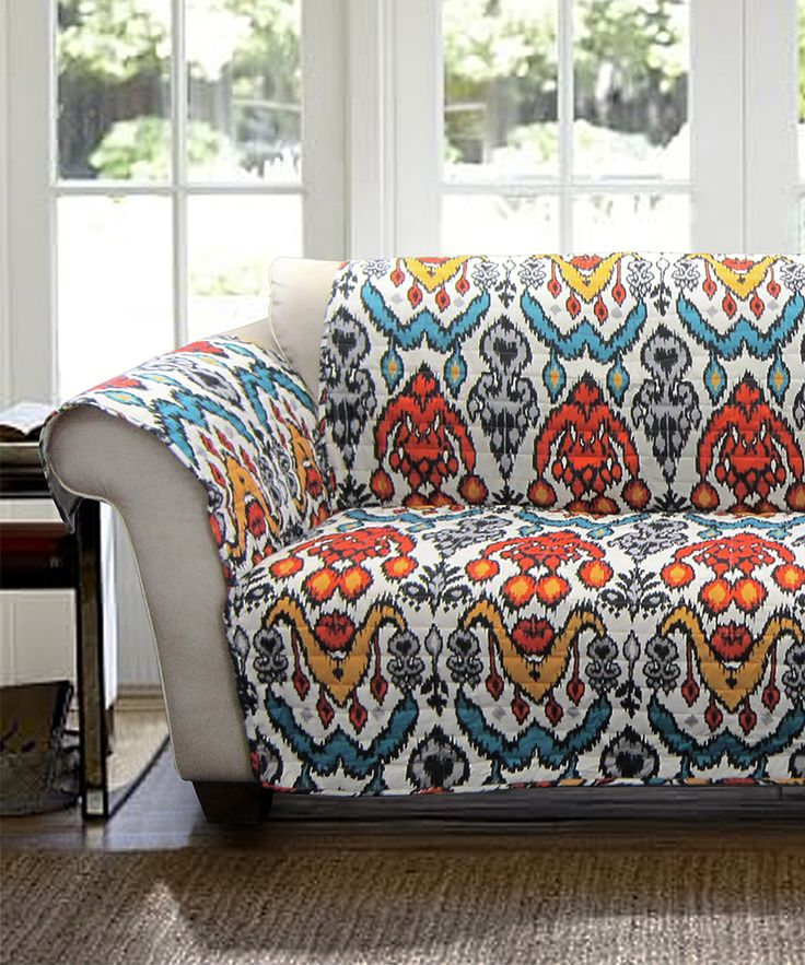 Turquoise & Rust Jana Furniture Protector