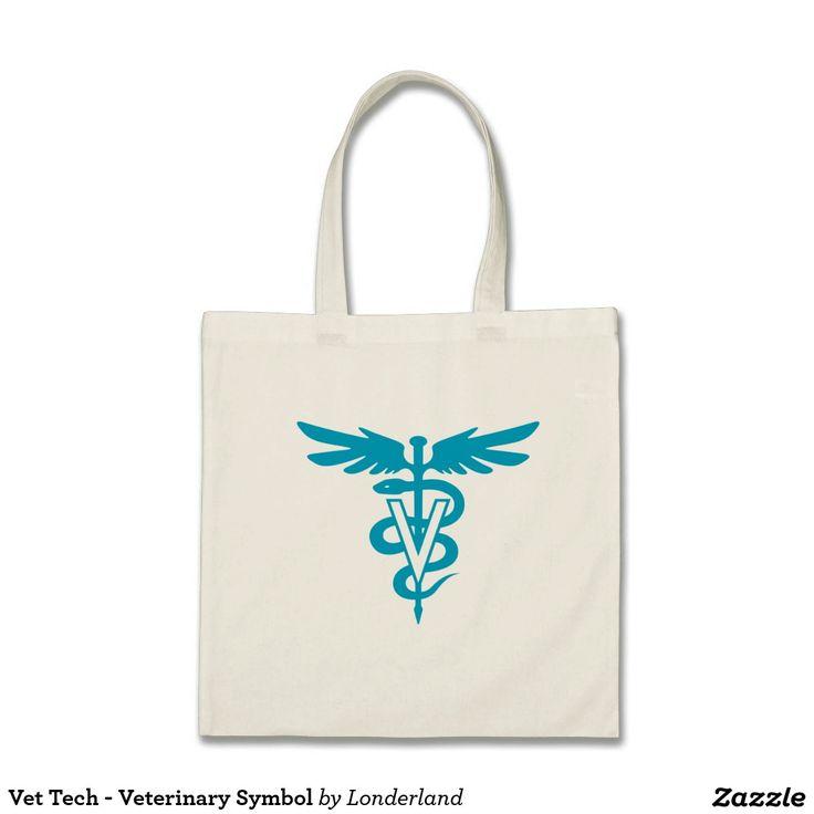 Vet Tech - Veterinary Symbol Bags