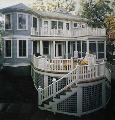 Deck ideas for houses