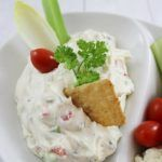 When I made this Cream Cheese Veggie Dip using Weight Watchers Reduced Fat Whipped Cream Cheese Spread, it was gone before I knew it!