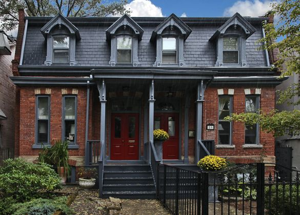 gallery for red brick house trim color ideas