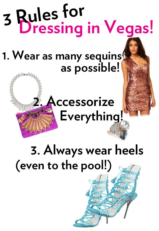 What to wear for a bachelorette party in Las Vegas