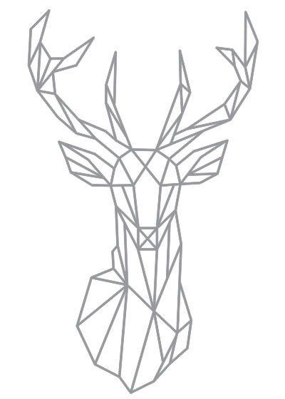 25 Best Ideas About Geometric Deer
