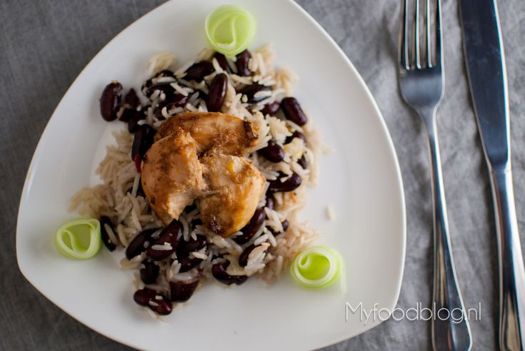 Jerk chicken, Met and Rice on Pinterest
