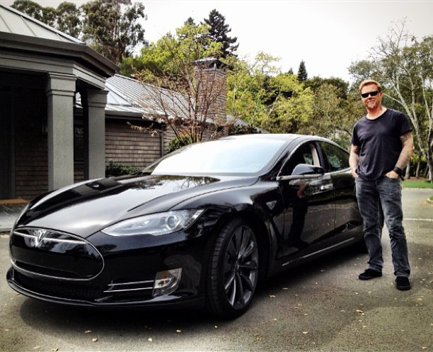 80 Best Images About Celebrity Tesla On Pinterest Brad