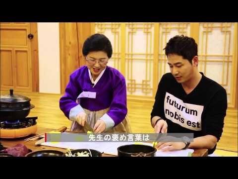 7:25 俳優カン•ジファン放送 SHORT FILM 1_ 全州の伝統ビビンバ 한국관광공사일본팀