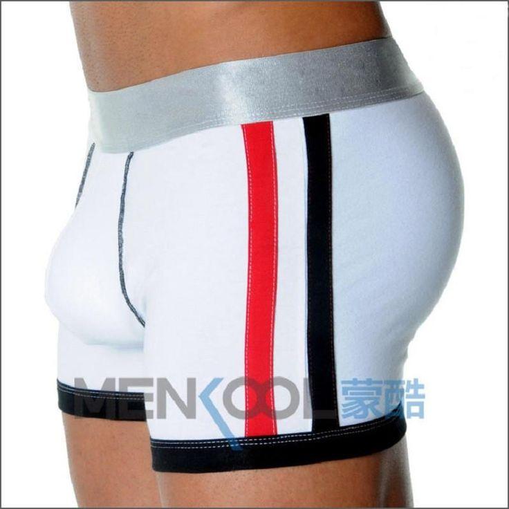 wholesale cotton brand mens underwear boxers mens bulge enhancing gay underwear men shorts trunk Enlarge Mens panties underpants