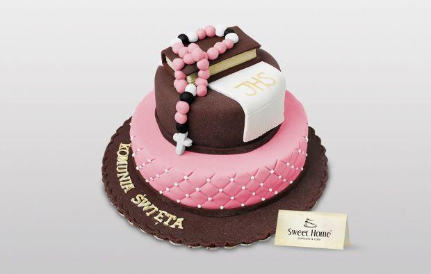 Pietrowy tort na Komunię