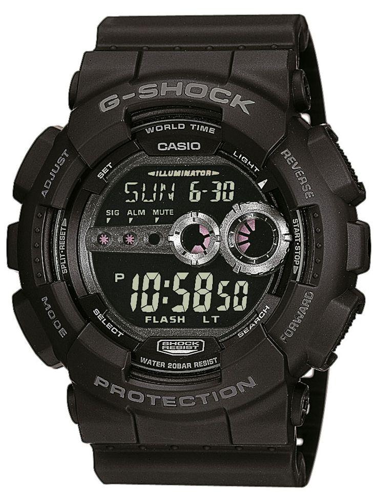 Casio GD-100-1BER Barbati G-SCHOCK 20 ATM 51 mm Cod produs: mid-14668  ACUM : 463,89 lei