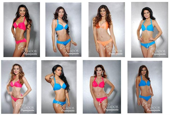 Miss Ecuador 2017 finalists stole the thunder in the official Swimsuit photoshoot