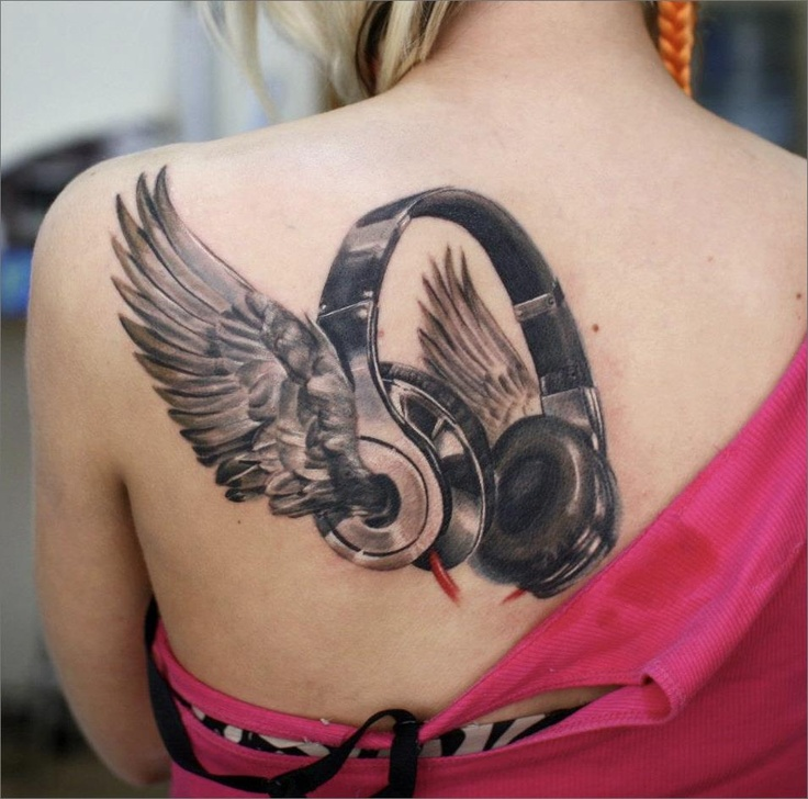 Tattoo Quotes Music: 25+ Trending Headphones Tattoo Ideas On Pinterest