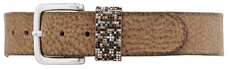 11204 jeans belt, 4 cm, cognac.