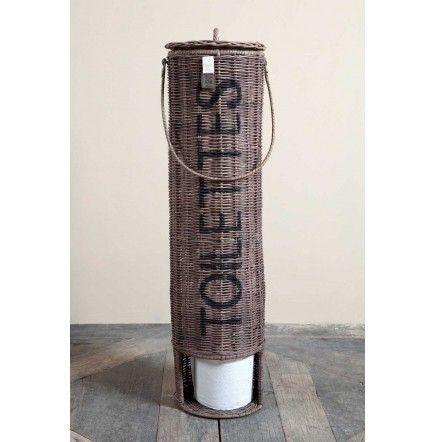 Høy kurvholder fra RM for toalettpapir!  H:70cm