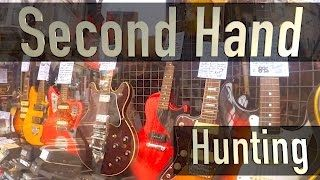 Looking for a second hand guitar? This video will help you get an idea of what you need to look for in the marketplace which is awash with great bargains.