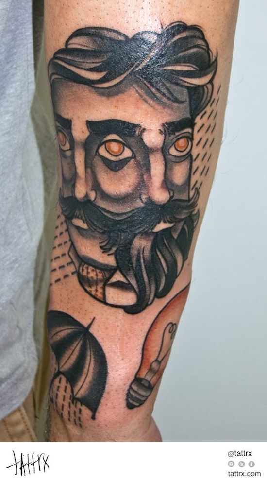55 best images about januskop on pinterest gi joe janus for Marc anthony neck tattoo