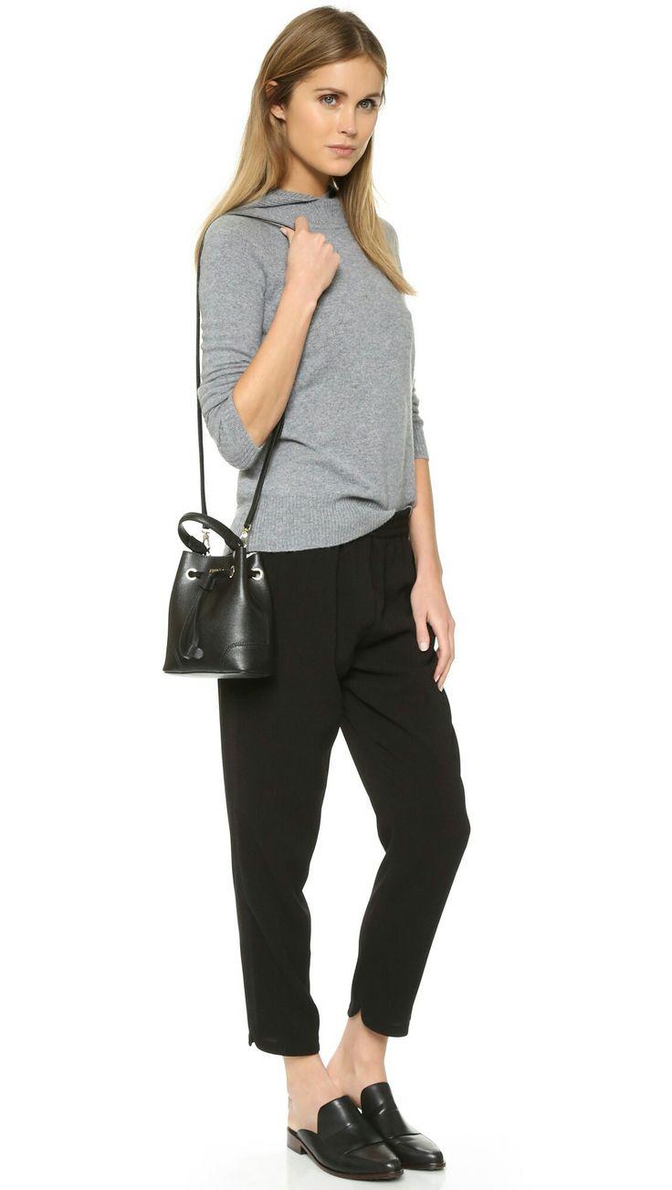 Furla Stacy Mini Crossbody Bucket Bag
